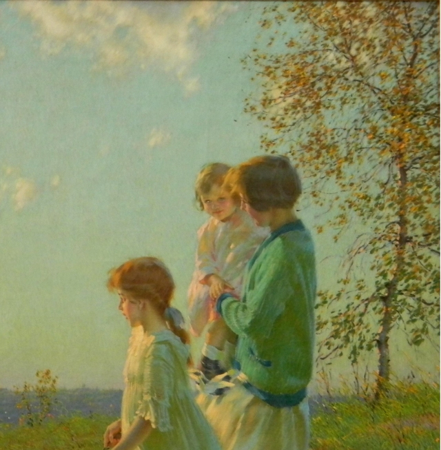 """In the Summertime"" by Edward Dufner"