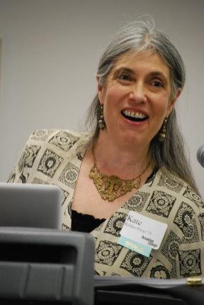 Kate Rothko at the Millburn Library