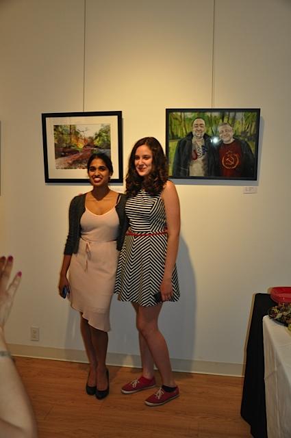 Winners Devikia Kanagaraj, Natasha Baskin