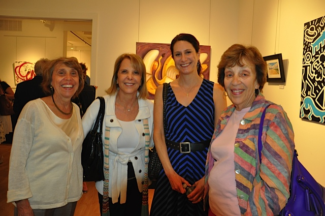 Art Advisory Committee Members Donna Davis, Judith Kramer, Victoria Plummer, Mayor Sandy Haimoff