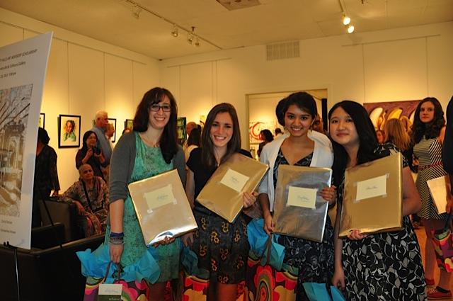 Lilly Blum, Carly Pancer, Viraj Khetani, Chloe Chan