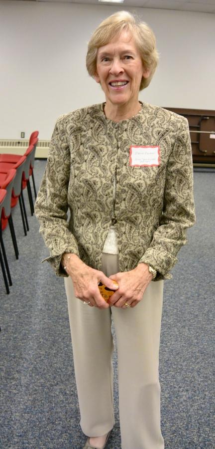 Art Advisory Committee member Elaine Becker
