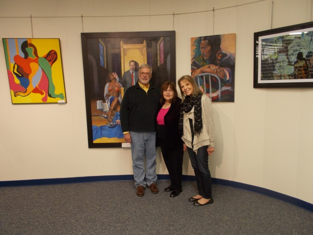 Art Advisory Members Andrew Permison, Chair Laraine Barach and Judy Kramer