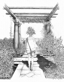 Erica Einhorn, Junior Award of Merit, 2016, Gazebo, ballpoint pen