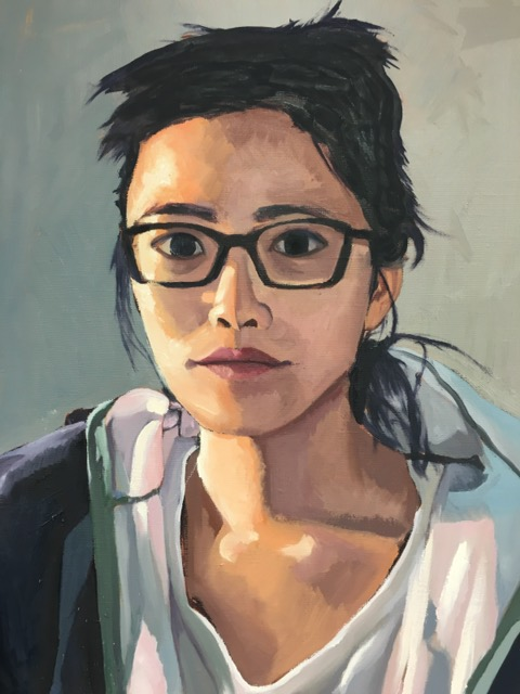 Abby Ow- Arts Advisory Senior Honorable Mention 2017--Didi--Oil Paint