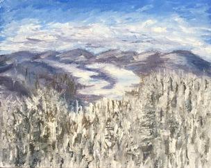 Jon Karlin-Art Advisory Committee Junior Award Winner 2071-Mirror Lake