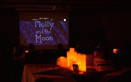 """Molly and the Moon"" was one of three short films presented during the evening."