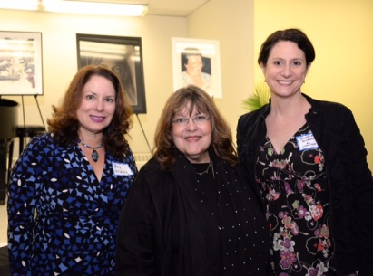 Amy McGovern, Laraine Barach, Victoria Plummer of the AAC