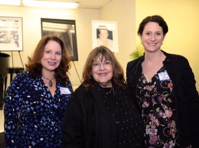 Amy McGovern, Laraine Barach, Victoria Plummer of the AAC