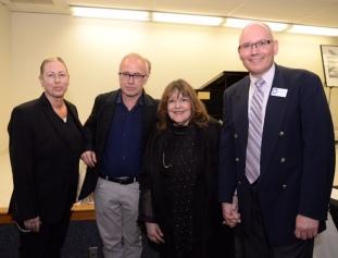 Amy Sokoloff and John Powell - Directors of Chelsea Restoration, NYC with Laraine Barach and Michael Banick