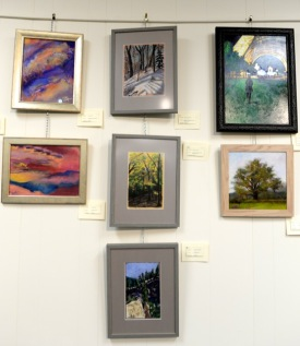 Artworks - Point of Origin Show - Millburn Library Gallery
