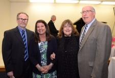 Dr Robert Keanan, Ms Krueger, Laraine Barach and Dr Miron
