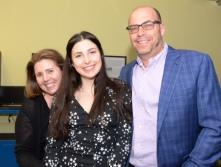 Katie Darvin and parents