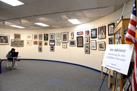 Point of Origin Show - Millburn Library Gallery