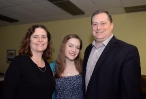 Sarah Rosenthal and parents