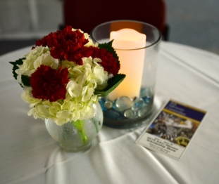 Table tableau at Scholarship Event
