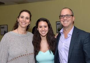 Valentina Ordenez and her family