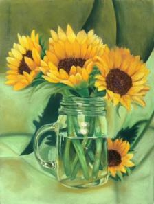 Emily Wolf: Sunflowers
