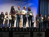 Danielle Benna, Matthew Green, Kyle Farscht, Jessica Yeager: Third Place Winners (tie)