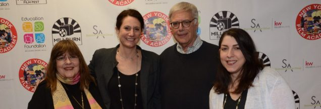 Art Advisory Members and Film Fest Judges Laraine Barach, Victoria Plummer, Andrew Permison and Erin Barach