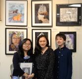 AAC Scholarship winner Eden Elder with family