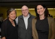 Doris Cheng, Ben DeRosa and Victoria Plummer