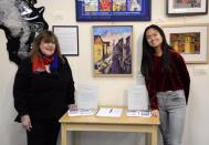 Laraine Barach and Maggie Ma