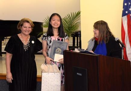 Michelle San Fillippo, Betty Zhang and Laraine Brennan Barach