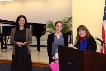 Victoria Plummer, Emily Wolf and Laraine Brennan Barach