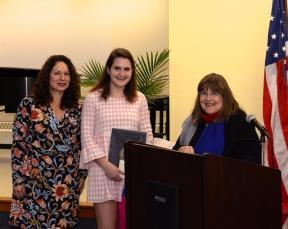 Amy McGovern, Morgan Osmun and Laraine Brennan Barach