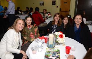 Judy Kramer, Vera Collitti, Alyssa Russo, Michelle Miller and Jean Weill