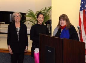 Donna Davis, Maya Gagnan and Laraine Brennan Barach