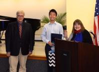 Andrew Permison, Timothy Hong and Laraine Brennan Barach