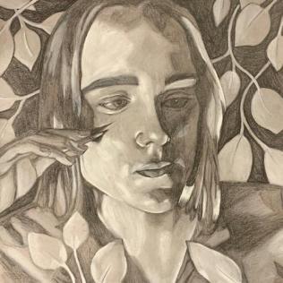 Olivia Regan - Incognito Self Portrait